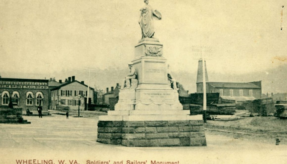 Soldiers' and Sailors' Monument Postcard-1-1