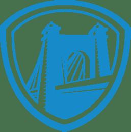 heritage logo blue